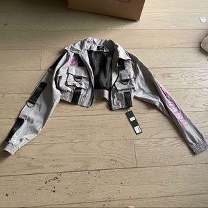 Lf the brand cropped jacket xs